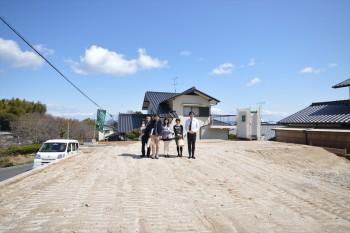岩国市黒磯町で地鎮祭   岩国市で新築一戸建てならネストハウス